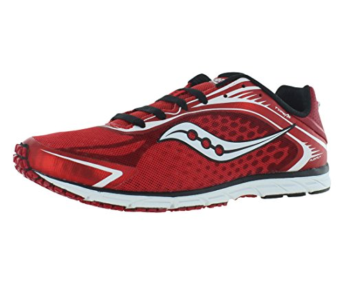 Saucony Men's Type A5 Running Shoe,Red/White,13 M US