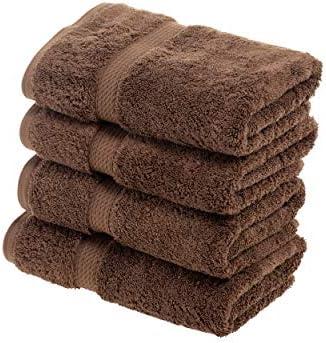 Chocolate 100/% Egyptian Cotton 900 GSM All-Cotton 2-Piece Bath Towel Set