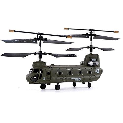 S026G v2 Chinook CH-47, RC ferngesteuerter 3.5 Kanal Hubschrauber, 6 Richtungen Fliegen, Heli mit integriertem Akku und Fernsteuerung, Ready-to-Fly Modell, Neu