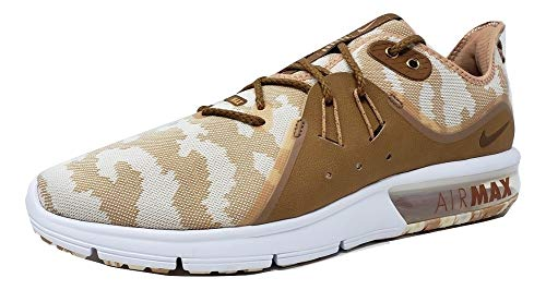 Nike Mens Air Max Sequent PRM CMO Light Cream/Light British Tan AR0251 200 (11.5 D US)