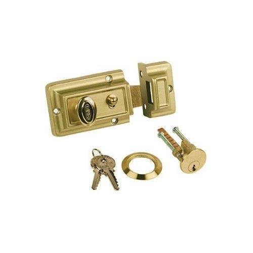 - Rim Night Latch Set Plus 3 Keys