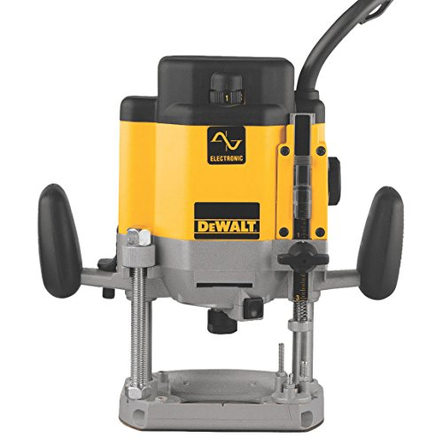 3hp Router - DEWALT DW625 3-Horsepower Variable Speed Electronic Plunge Router
