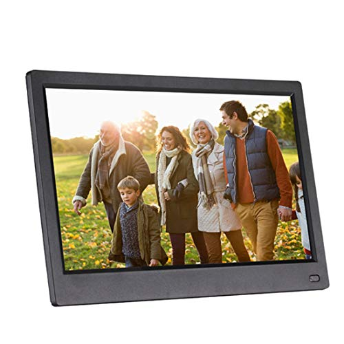 Digital Picture Frame with IPS LCD Panel, MP3 Music and 1080P HD Video Playback, Auto On/Off Timer, Ultra Slim Design, Instantly Sharing Moments,11.6