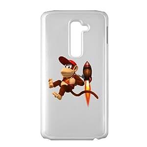 donkey kong country returns LG G2 Cell Phone Case White 53Go-485513
