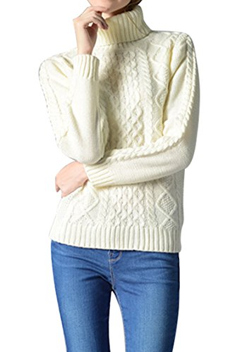 Sovoyant Womens Chunky Pullover Sweater