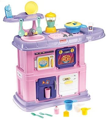 Amazon.com: Fisher Price Pink Grow with Me Kitchen: Toys & Games