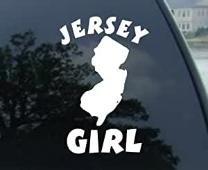 """6"""" Jersey Girl - New Jersey State Decal Sticker"""