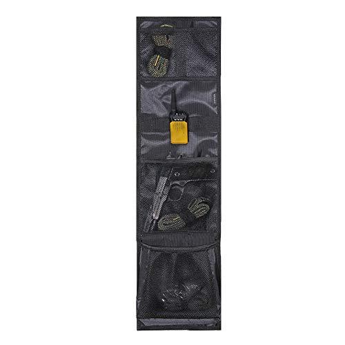 RAYMACE Gun Safe Door Panel Organizer 10W29 7/10H inch for Storage Solution Mounts Inside Safe Cabinet