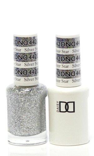 DND Gel & Matching Polish Set #442 - Silver Star. Buy 5 any