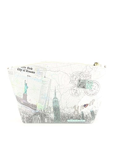 Y NOT? - Borsa da donna pochette f-309 new york city of dreams