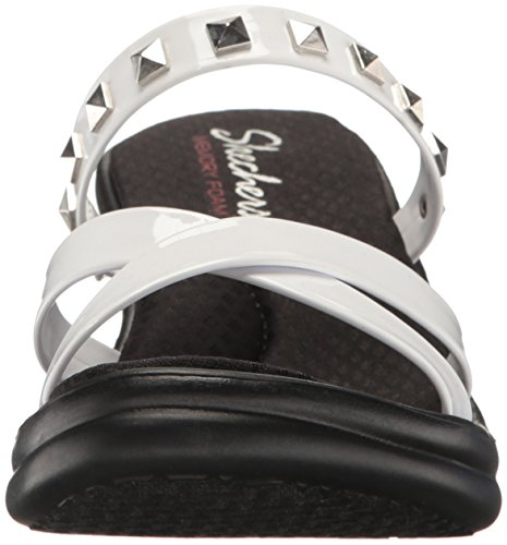 Cali Rumblers Mujer Sandalias Skechers cuña studette de Blanco dqSWxvw