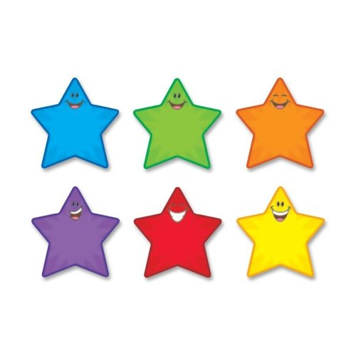 Trend Classic Accents Shape - 36 Smiley Star - 5.5