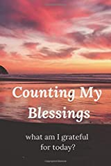 Counting My Blessings: What Am I Grateful For Today? Paperback