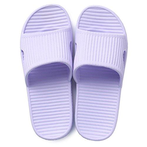 spessore coppia carino casa l'estate scivolose di balneazione pantofole Home pantofole viola femmina DogHaccd cool Luce pantofole pantofole di 1 home con estate fBPwzvq