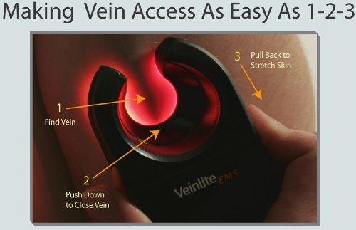 Veinlite EMS Adult Baby Vein Finder Transilluminator