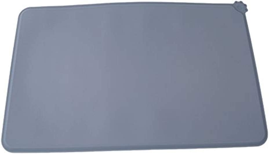 CHONGWDZ Pet mat Dog Cooling Pad Pet Food Pad Pet Bowl Drinking Mat Dog Feeder Easy Placemat Easy Wash