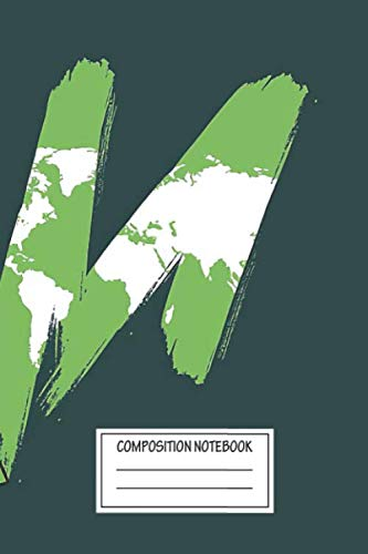 Notebook: Green Again , Journal for Writing, Size 6' x 9', 164 Pages