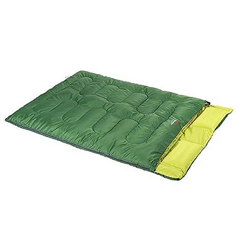 LOLIVEVE Saco De Dormir Naturehike Tamaño Doble Al Aire Libre Bolso Ancho Doble De 5 Grados C Keep Bag: Amazon.es: Deportes y aire libre