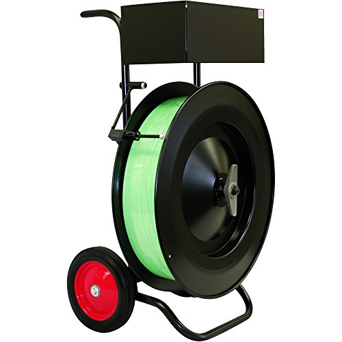 Ship Now Supply SNMIP5200 Strapping Cart, Heavy-Duty, MIP5200, Black by Ship Now Supply