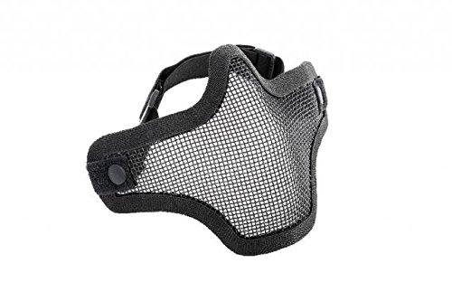 AMP CORE Mesh Half Mask, Single Strap, Black (Amp Mesh Hat)