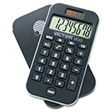 900 Antimicrobial Pocket Calculator, 8-Digit LCD, Total 60 EA, Sold as 1 Carton