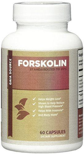 Gaia Source - Forskolin - from Coleus Forskohlii Root Extract