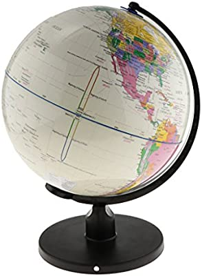 Spinning Globo terráqueo interactivo para niños, kit de ...