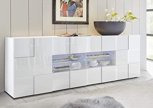 Credenza Moderna 4 Ante : Credenza bianca arredamento mobili e accessori per la casa a