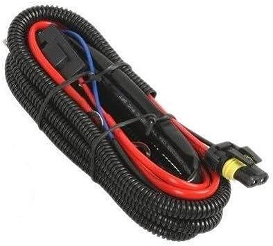Amazon.com: Xentec Universal relay wiring harness for all HID single kit  H1, H3, H4, H7, H8, H9, H10, H11, H13, 9004, 9005, 9006, 9007, 5202, 880,  884: Automotive | Xantec Hid Ballast Wiring Diagram |  | Amazon.com
