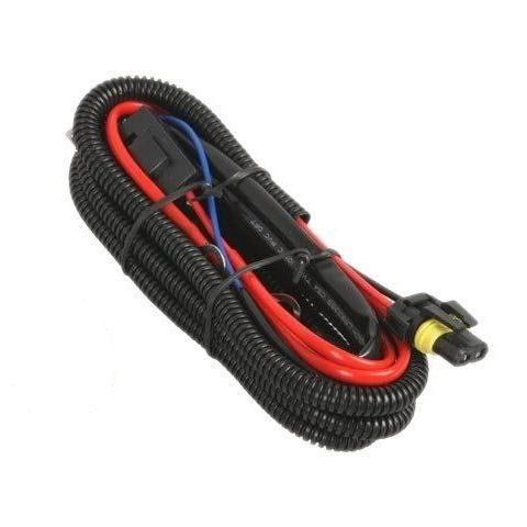 Xentec Universal relay wiring harness for all HID single kit H1, H3, H4, H7, H8, H9, H10, H11, H13, 9004, 9005, 9006, 9007, 5202, 880, 884