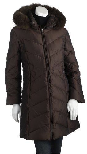 Weatherproof Ladies Iridescent Down Coat, PotatoSkin, X-Large