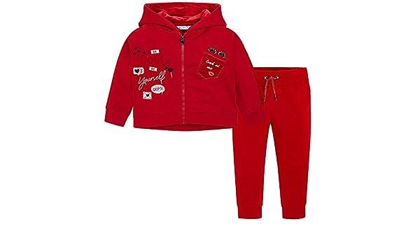 47014bb1f Mayoral Chandal Rojo Niña 3-9 Años (9 años): Amazon.es: Ropa y accesorios