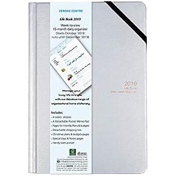 Amazon.com : Agenda 2019 Daily Planner Pocket Calendar ...