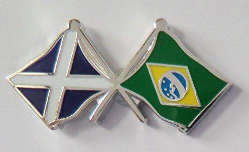 Bandera Amistad y Cortes Brasil de Escocia awHvqwxf6g