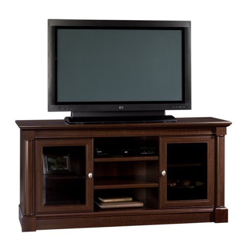 Sauder Palladia Entertainment Credenza, Select Cherry by Sauder