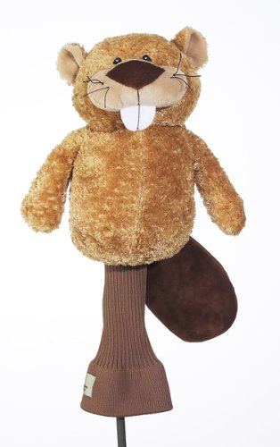 Creative Covers for Golf Birdie the Beaver Golf Club Head Cover Beaver Golf Headcover