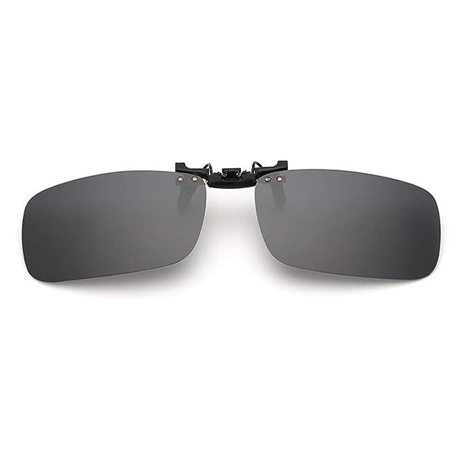 Embryform Gafas de sol con clip, unisex, polarizadas, sin ...