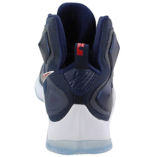 Mid Lebron Rd white 's Shoes Basketball NIKE Nvy Unvrsty Blue Men bright Navy Red White XIII 6vqwEEO5x