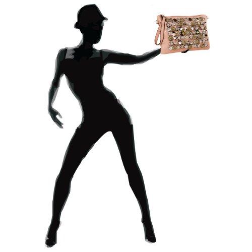 CASPAR Fashion - Bolso cruzados para mujer - koralle
