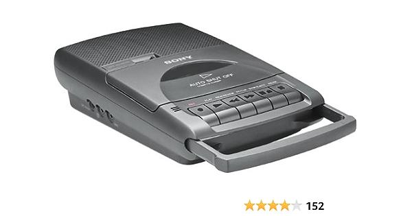 Renewed Sony TCM-929 Pressman Desktop Cassette Recorder with Automatic Shut-Off