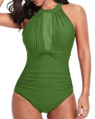 The long torso monokini with unique mesh & deep v design is perfect for chubby girls or young moms who'd like to cover the flaws and show curves, catching some rays, modish and fantastic. Any questions feel free to contact with us. Thanks...