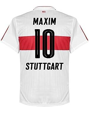 VFB Stuttgart Home Maxim Jersey 2016 / 2017 (Fan Style Printing)