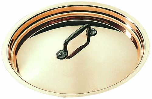 Matfer Bourgeat 365028 Copper Lid for Heavy Saute Pan, 10-Ounce by Matfer Bourgeat