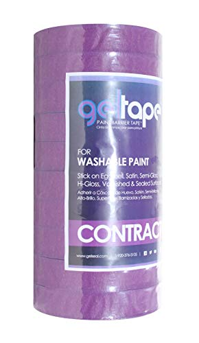 GelTape - Painter's Tape for Washable Textured Surfaces 10 Roll Contractor Pack by GelTape (Image #3)