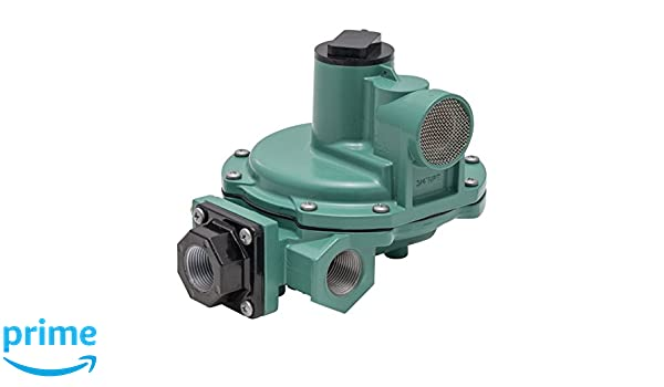Emerson-Fisher LP-Gas Equipment R642-DFF 2nd Stage Regulator 9-13 W.C Spring Side Outlet 3//4 x 3//4 NPT