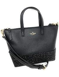 Ina Greta Court Glitter Crossbody Bag Top Handle Handbag