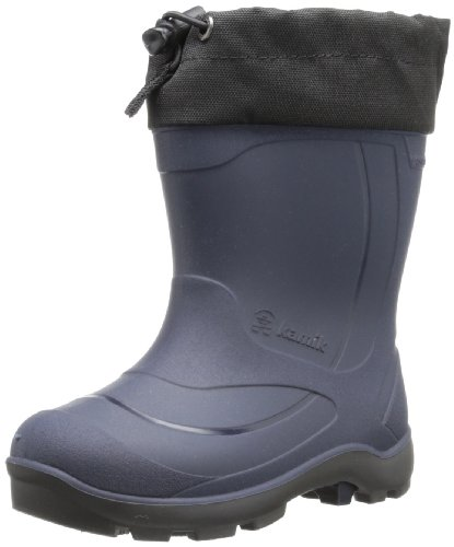 Kamik Footwear Kids Snobuster1 Insulated Snow Boot (Toddler/Little Kid/Big Kid),Navy,1 M US Little Kid (Footwear For Kids)