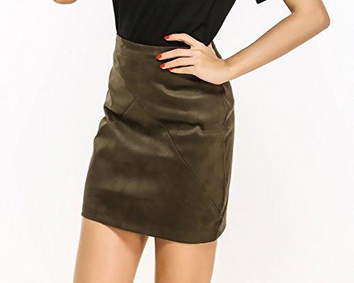 Klettergurt Hüfte Taille : Rock damen high waist slim fit paket hüfte kurz röcke elegant