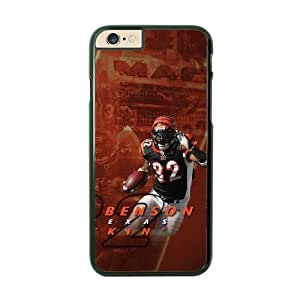 iPhone 6 Plus Black Cell Phone Case Cincinnati Bengals NFL Personalized Phone Case Cover For Guys NLYSJHA1922