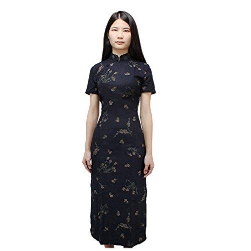 Andux Zone Damen China Cheongsam Kleid Abendkleid Partykleid Koh ...